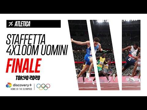 Staffetta 4x100m Uomini - Atletica   FINALE - Highlights   Giochi olimpici - Tokyo 2020
