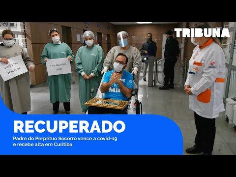Padre do Perpétuo Socorro vence a covid-19 e recebe alta em Curitiba