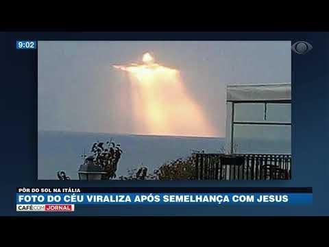 Foto do céu viraliza após semelhança com Jesus